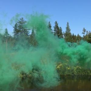 Шашка дымовая зеленая