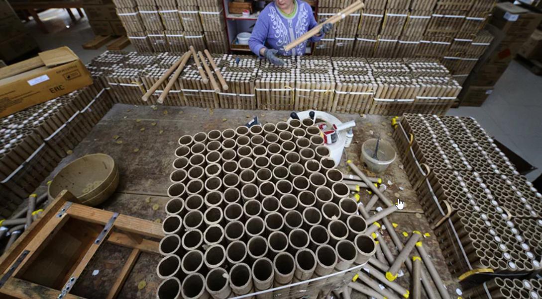 производители фейерверков в России