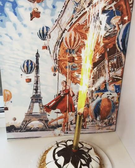 фонтан для торта
