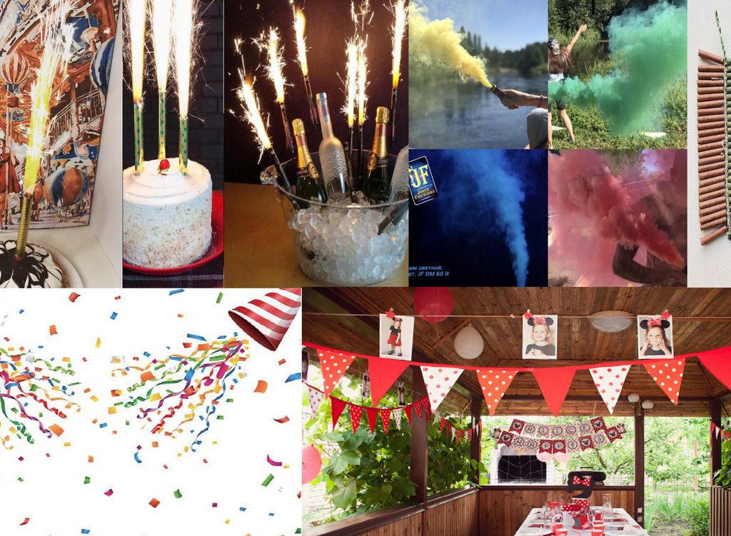 Оформление праздника день рождения
