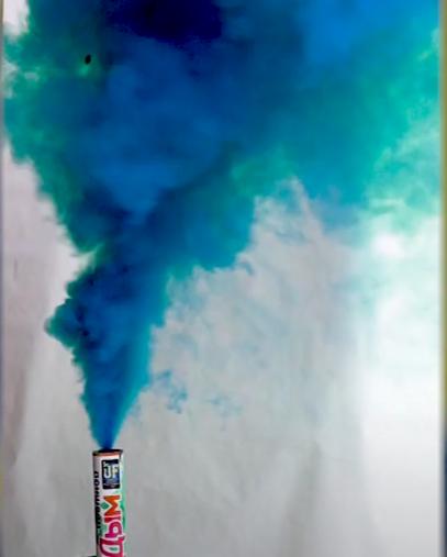 Шашка дымовая бирюзовая