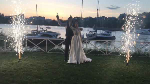 Оформление свадьбы 2 фонтана