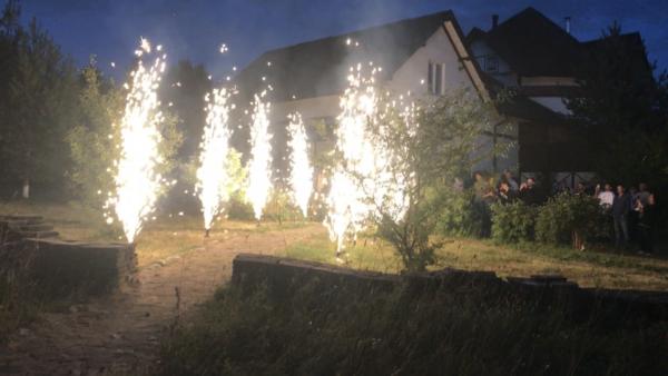 Свадебная дорожка 8 фонтанов